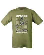 Apache T-shirt - Olive Green